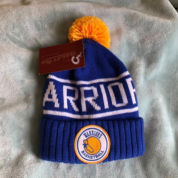 5f623150f6 Golden State Warriors Tossle Cap Winter Hat